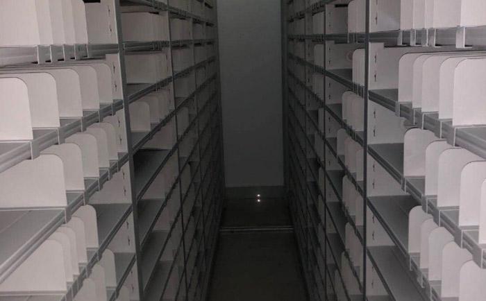 广州诗妃生物科技有限公司密集柜案例