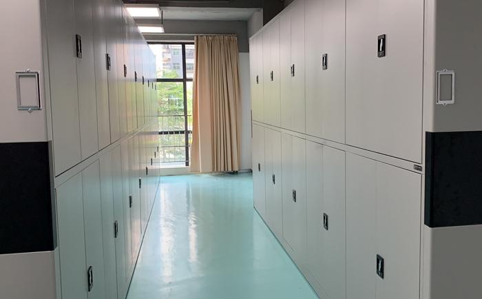 广东粤电茂名新能源有限公司固定档案柜案例展现