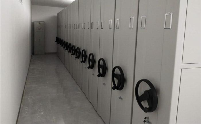 喀什农商银行总行大厦密集柜采购安装项目