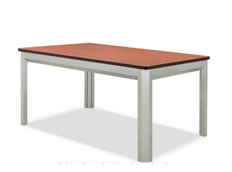 钢木阅览桌